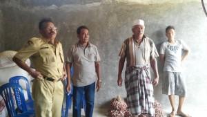 Koordinator PBT Kab.Bima dan Penangkar Benih Bawang Merah Kab. Bima