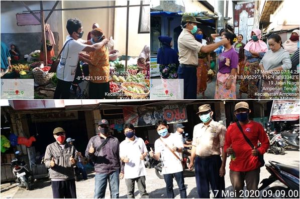 sosialisasi penggunaan masker