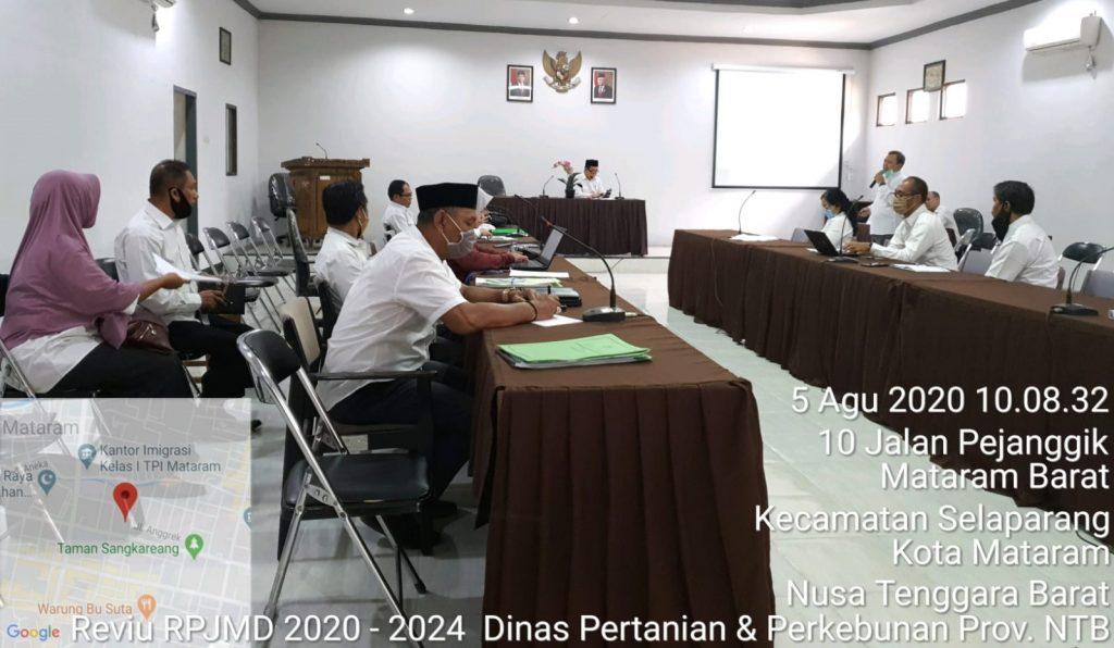 Review RPJMD Program Pembangunan NTB 2020-2024