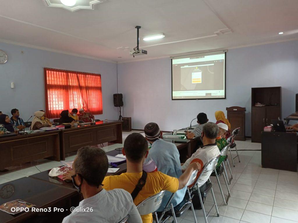Temu Teknis dan Workshop Dupak Online dilaksanakan dalam rangka memperkenal Fungional PBT dalam mengisi Dupak secara Online di Kementerian Pertanian RI